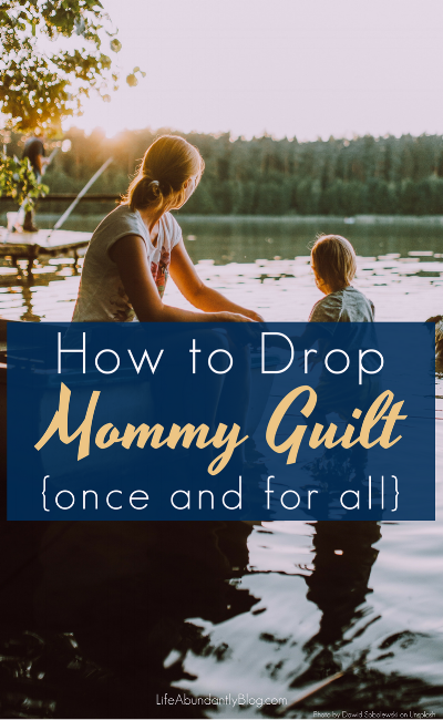 I fall into this trap of Mommy Guilt SO HARD sometimes. How are you supposed to know which way is BEST for your kids and your family. I definitely must read this.