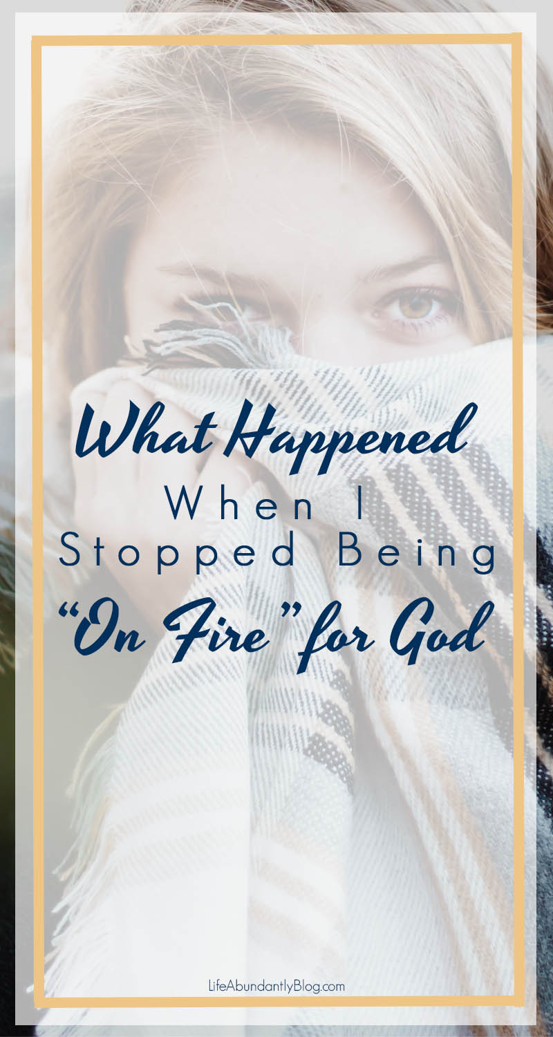 What happens when the fire starts to dim and the rush of newly knowing Christ begins to wane? How do you transition from a faith of passion to a faith of discipline? What happens you start BELIEVING God is who he says he is? Learn how to abide in God, believe God, and trust God.