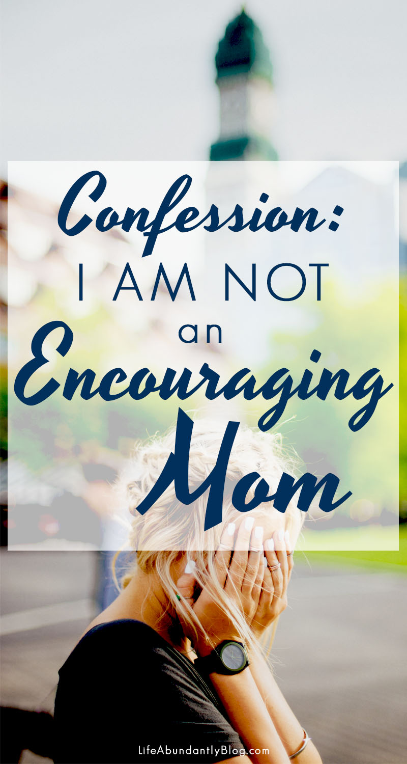 Confession time: I can be way more critical than encouraging. It's all wrapped up in being too concerned with what others think about me as a homeschool mom. I (WE) don't have to live this way!