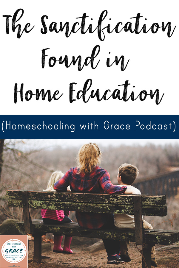 Does homeschool seem a little more challenging to your own spiritual development than you thought it would be? It can be so challenging to be face to face with our own sin so often, as it is mirrored back in our children. This podcast episode is a frank and lighthearted chat between two homeschool moms who are walking through these trials and learning opportunities themselves.