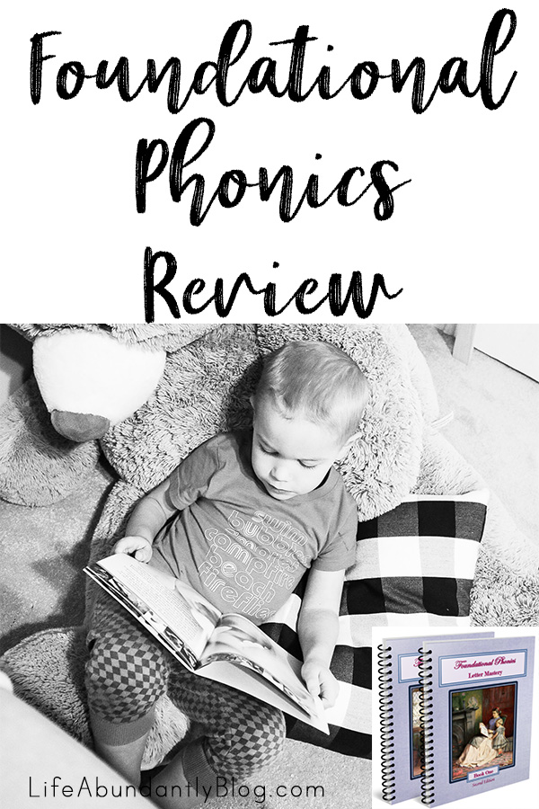 Ever heard of Foundational Phonics? I hadn't either! But it's REALLY beautiful and REALLY affordable...and REALLY works. Your child will be reading short words in just a few lessons!