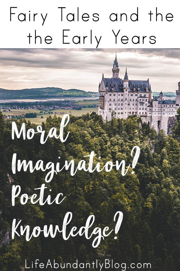 """Why would you ever read fairy tales to your preschooler or young child? Aren't they super messed up and twisted? What GOOD could possibly come from them? And what EVEN IS """"moral imagination""""?"""