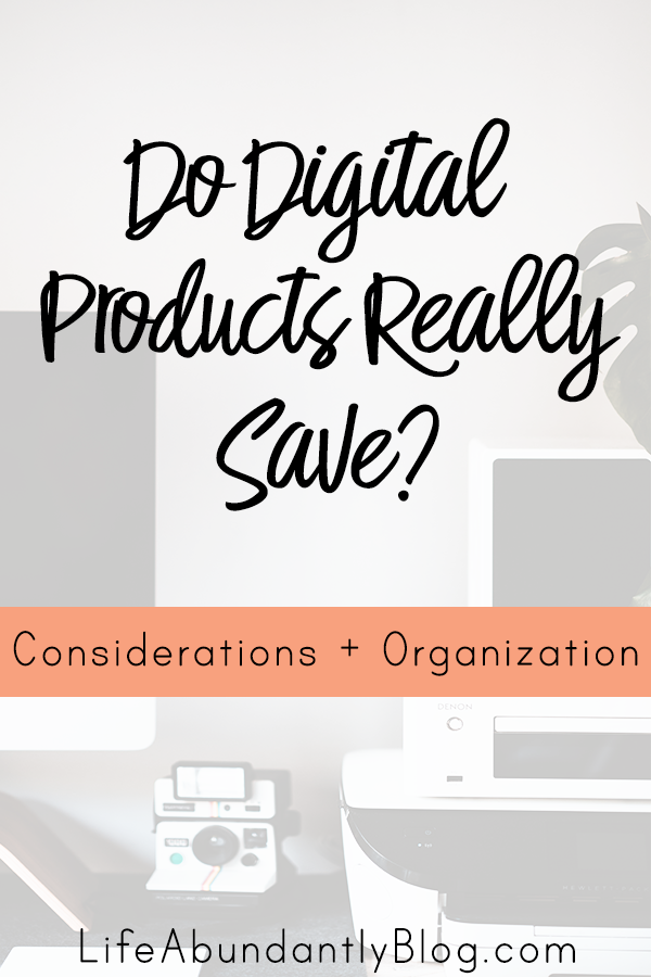 Have you ever wondered if buying homeschool printables and curriculum digital is actually CHEAPER? Are bundle sales really giving you a savings? How can you afford to print so much stuff! Here are all the answers!
