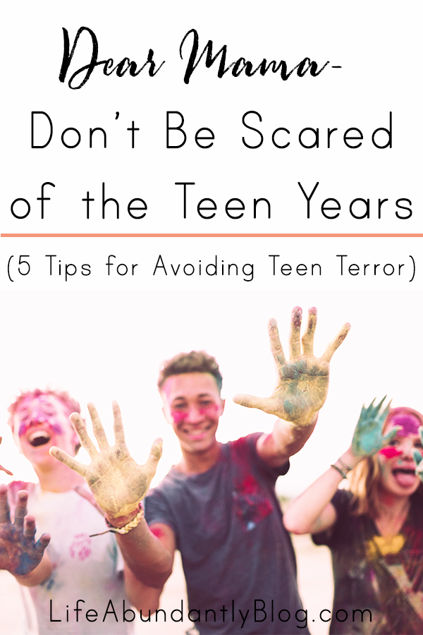 Do you have a sense of foreboding about the teen years? Do you fear the day your child will lose their mind, begin to hate you, or you lose all control? Are you dreading a loss of relationship? Here are 5 tips for navigating the teen years with confidence and creating a loving relationship with your teen.