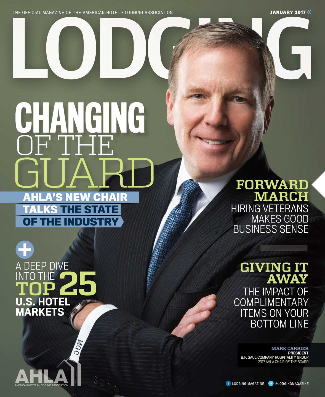 Lodging Magazine Cover Photo