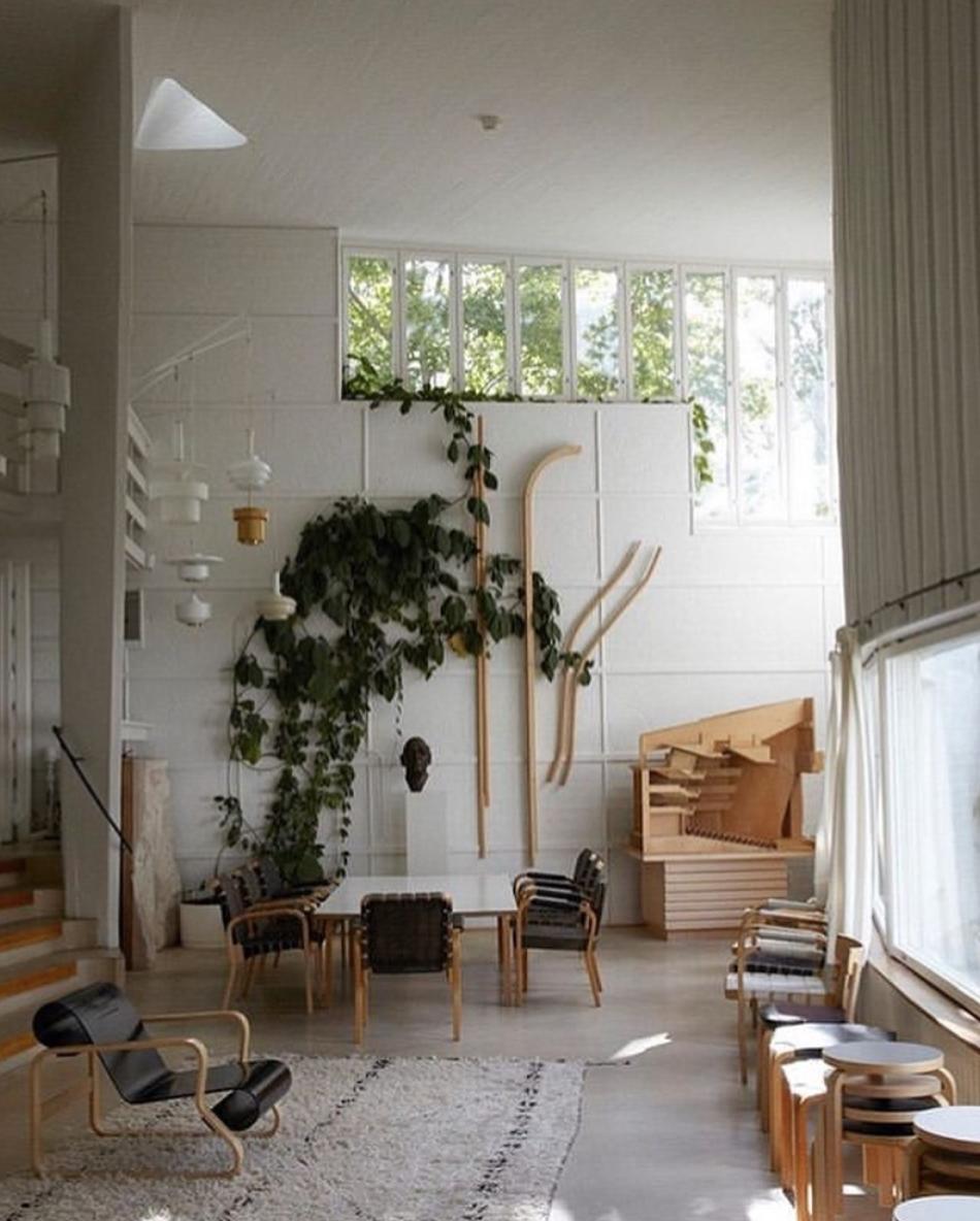 Interior by Alvar Aalto