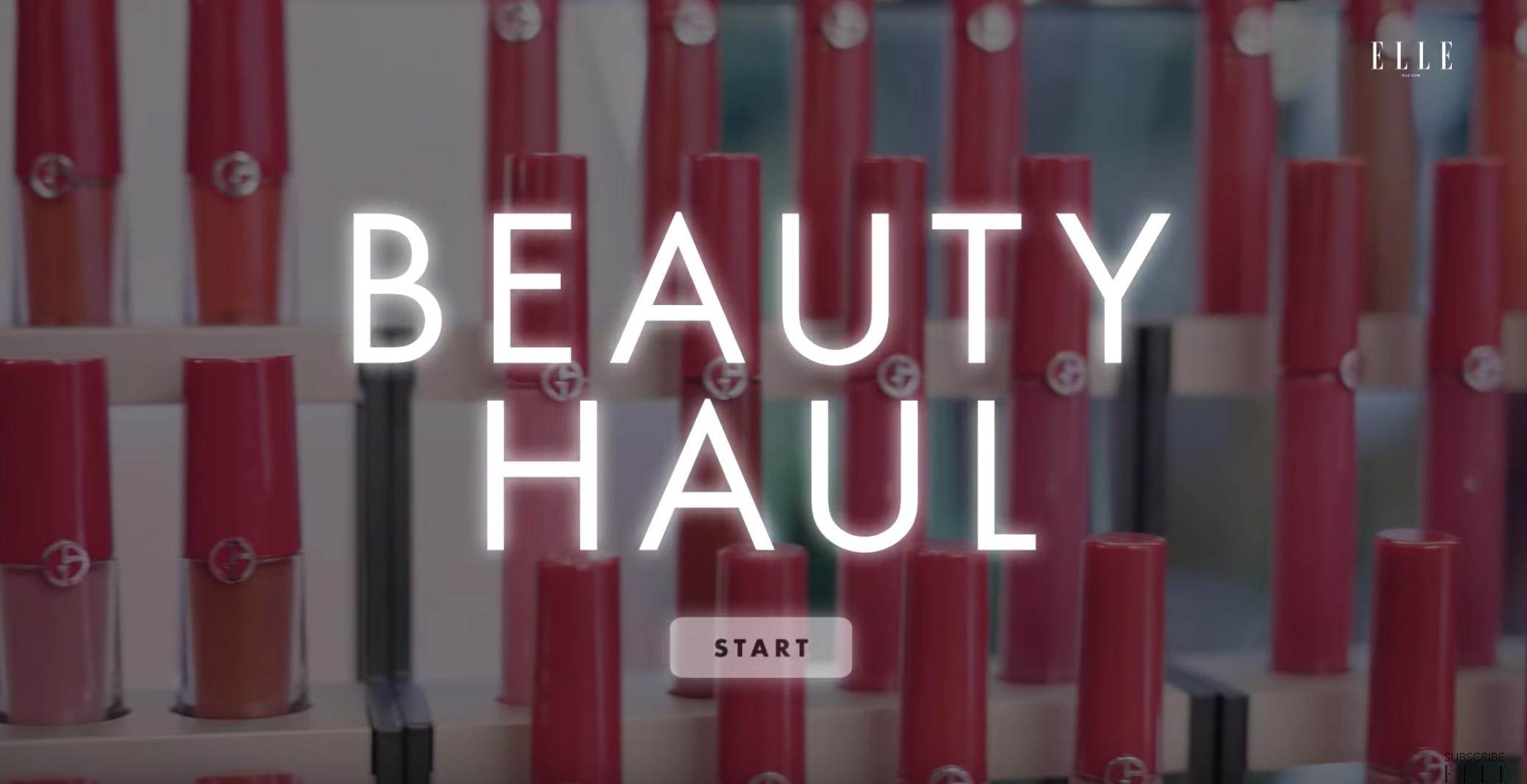 ELLE'S Beauty Haul