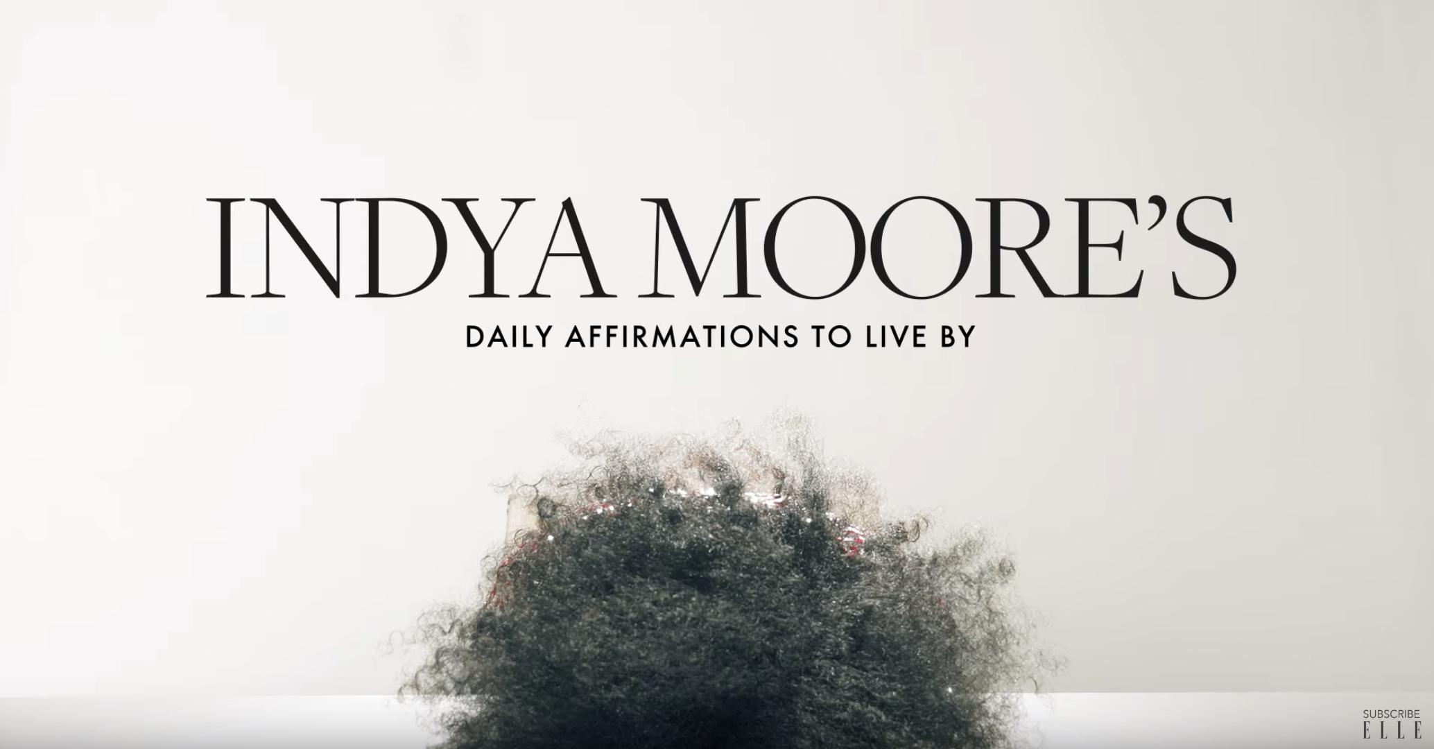 ELLE x Indya Moore