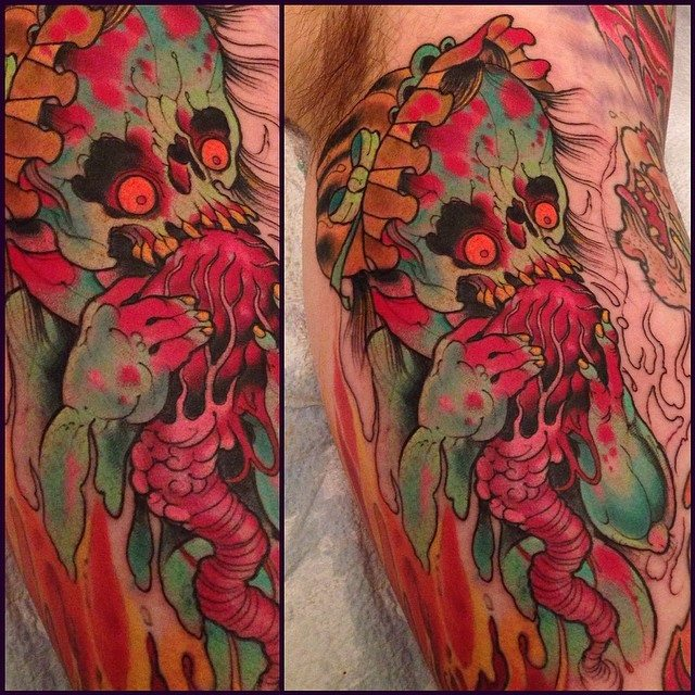 creature-demon-asian-sleeve-tattoo-LA-LosAngeles-besttattoo-besttattooartist-besttattooartists-top-pictures-images-photo-tat-ink-inked-robgoodkind-guestartist-rabblerousertattoo