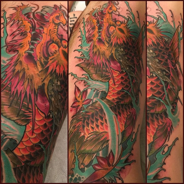 dragon-asian-sleeve-color-creature-tattoo-LA-LosAngeles-besttattoo-besttattooartist-besttattooartists-top-pictures-images-photo-tat-ink-inked-robgoodkind-guestartist-rabblerousertattoo