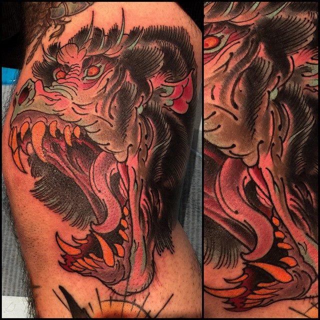 baboon-creature-scary-tattoo-LA-LosAngeles-besttattoo-besttattooartist-besttattooartists-top-pictures-images-photo-tat-ink-inked-robgoodkind-guestartist-rabblerousertattoo