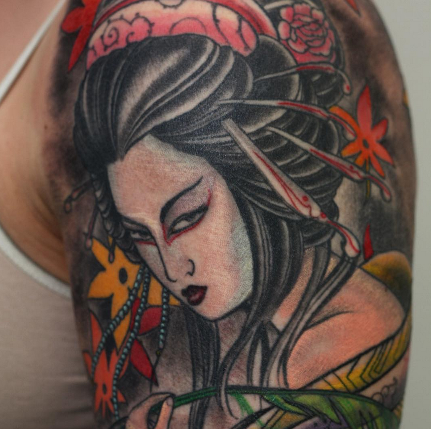 geisha-beautiful-lady-arm-Tattoo -LA-LosAngeles-besttattoo-besttattooartist-besttattooartists-top-pictures-images-photo-tat-ink-inked-bigboy-guestartist-rabblerousertattoo