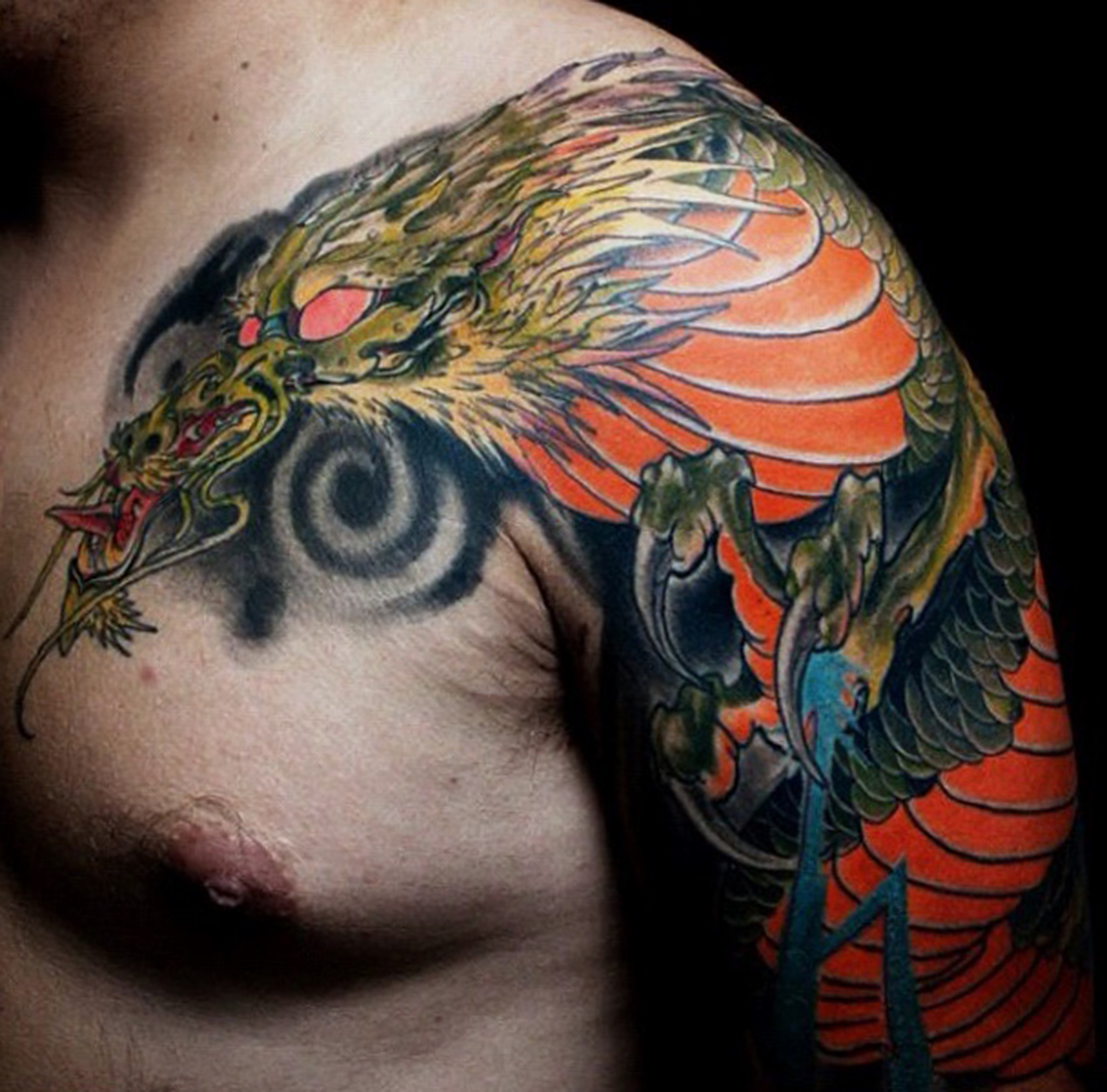 dragon-arm-sleeve-Tattoo -LA-LosAngeles-besttattoo-besttattooartist-besttattooartists-top-pictures-images-photo-tat-ink-inked-bigboy-guestartist-rabblerousertattoo