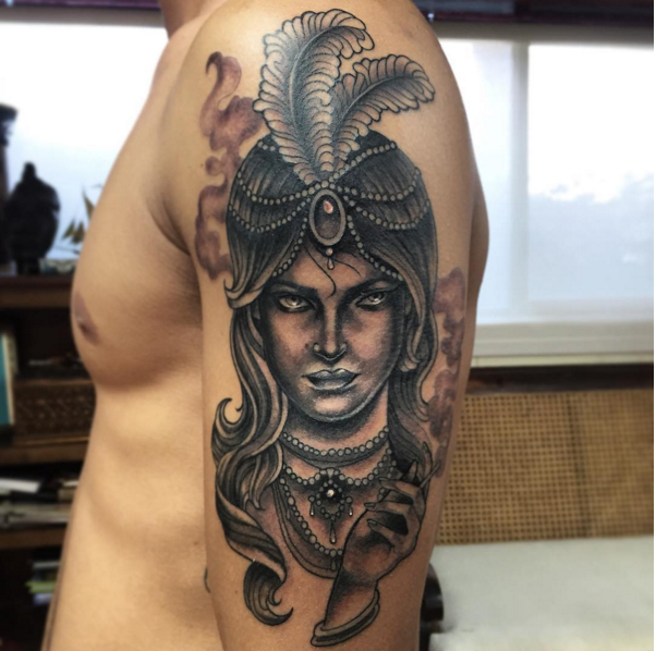 portrait-gypsy-blackandgrey-lady-tattoo-LA-LosAngeles-besttattoo-besttattooartist-besttattooartists-top-pictures-images-photo-tat-ink-inked-yvonnekang-guestartist-rabblerousertattoo