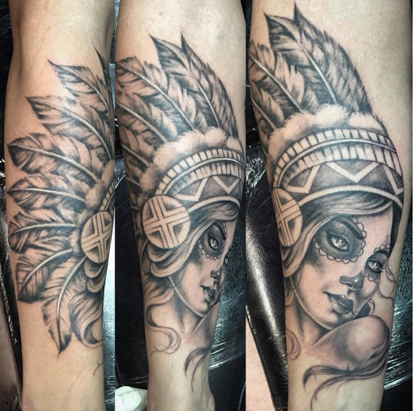 indian-portrait-blackandgrey-lady-tattoo-LA-LosAngeles-besttattoo-besttattooartist-besttattooartists-top-pictures-images-photo-tat-ink-inked-yvonnekang-guestartist-rabblerousertattoo