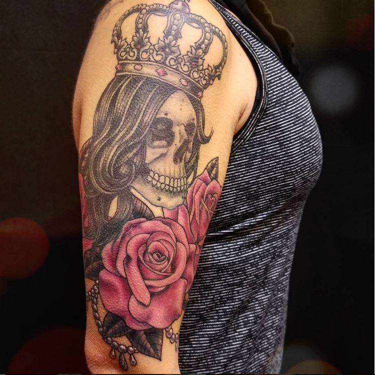 jim skull queen rose.JPG
