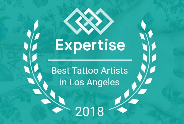 TOP 20 - Expertise named us as one of the 20 BEST TATTOO SHOPS IN LOS ANGELES
