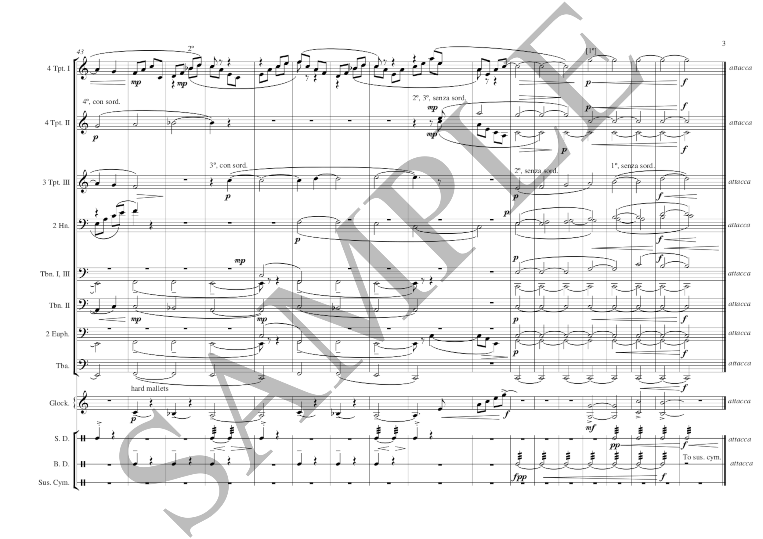 Century (brass ens) Schultz/arr. Cook SAMPLE