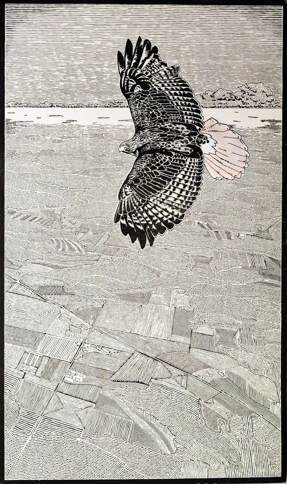 FindYourMouse_woodcutprint_stanleyleonard