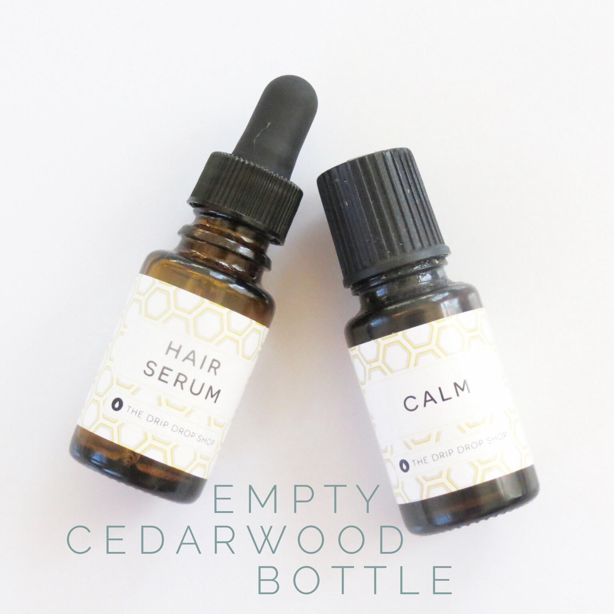 Cedarwood bottle uses