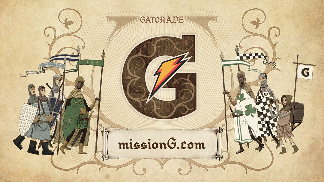 Gatorade - The Quest for G