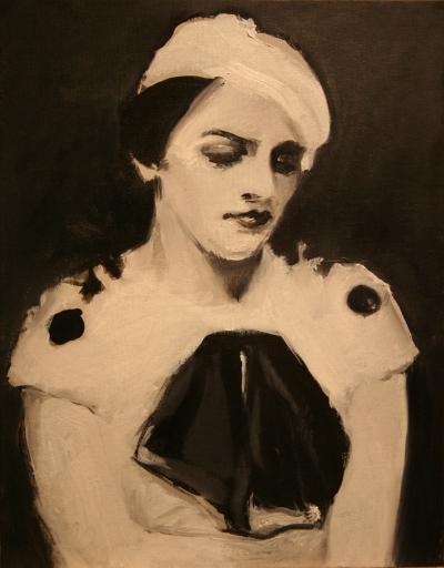 """Florence Pfifer Study"", Acrylic on Canvas, 12""x14"""