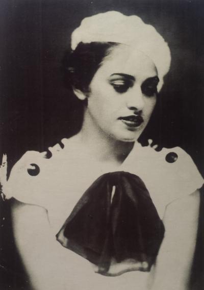 "Copy of original photograph of Florence Pfifer, 6""x9"""