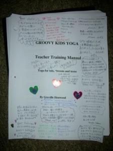 Groovykids yoga manual