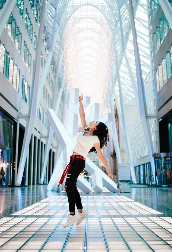 Levitating  @annadeguzman .