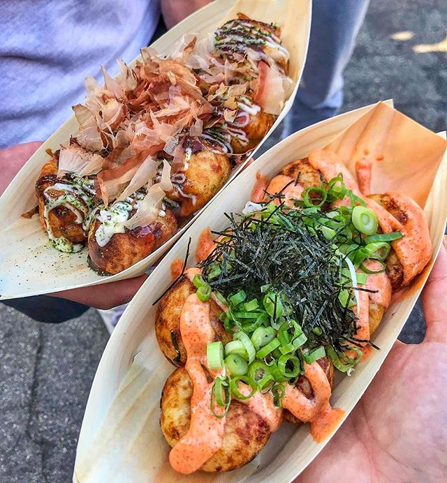 If you missed out on your favorite vendors like @takoyakitanota at OC last weekend, you still have one more chance at the last @626nightmarket event of the year at Santa Anita Park in Arcadia on August 30-September 1! See you then! 📸: @foodie_mary.