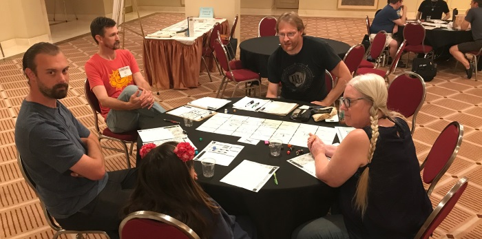 Hamish's Dungeon World table