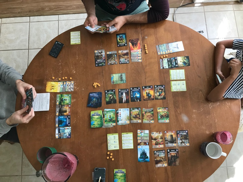 A game of Villages of Valeria