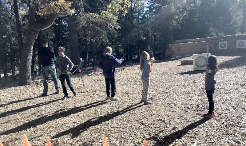 Archery, round two.