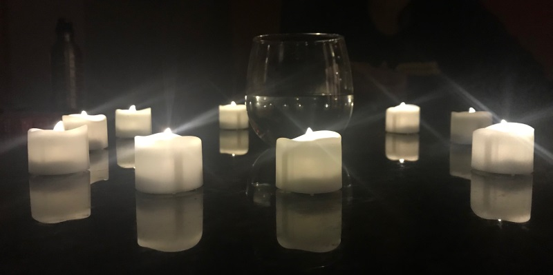 They look shockingly like real candles... I love my LEDs. They've served me many times (this is the fourth game with them?)
