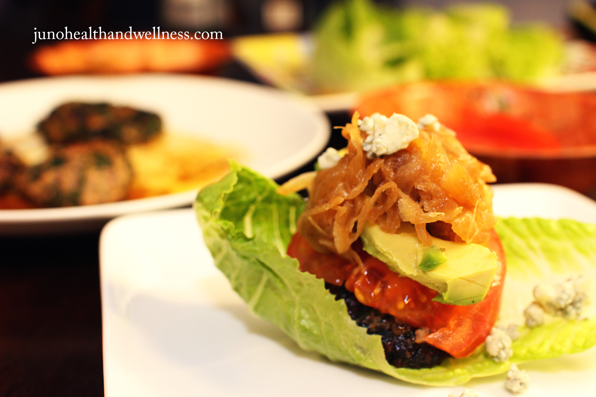 Spinach, Kale, and Beef Burger