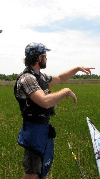 Teaching Sea Kayaking at Cape Lookout National Seashore, North Carolina