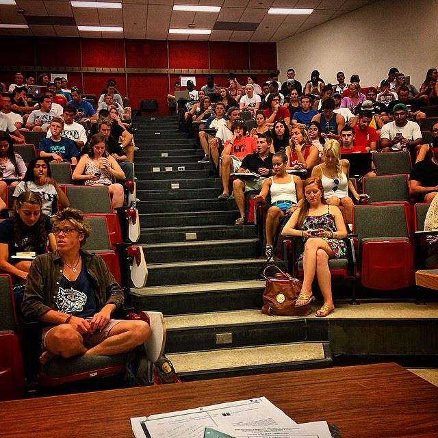 """Teaching RMP 511 """"Wilderness Issues in American Society"""" Course for 220 Students at UNH"""