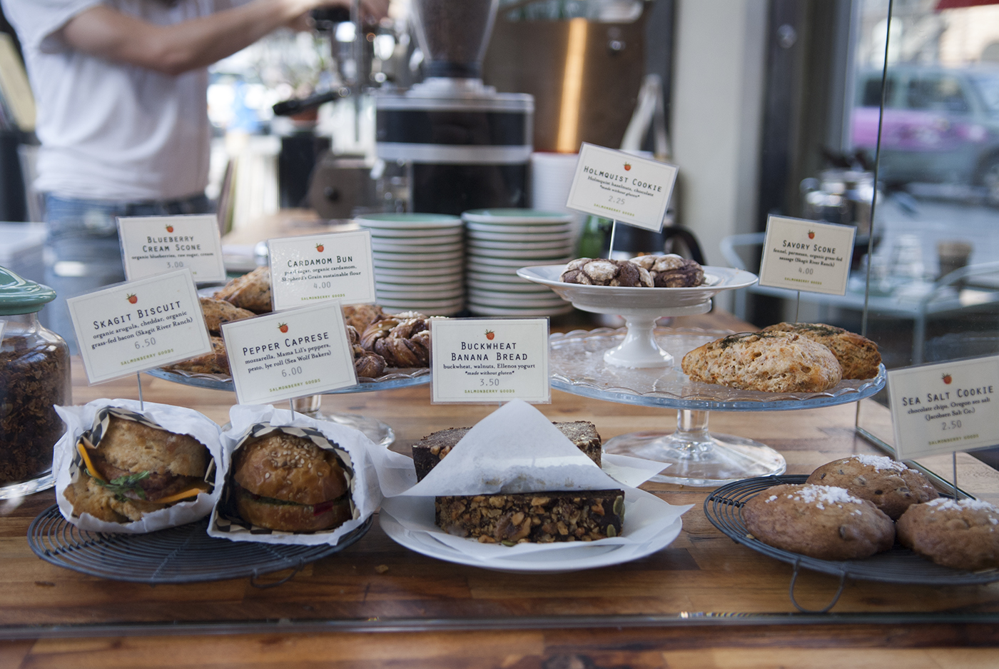 Match made in Washington. - We teamed our single origin coffees with Salmonberry Goods' seasonal farm-to-table pastries to make your next gathering memorable.