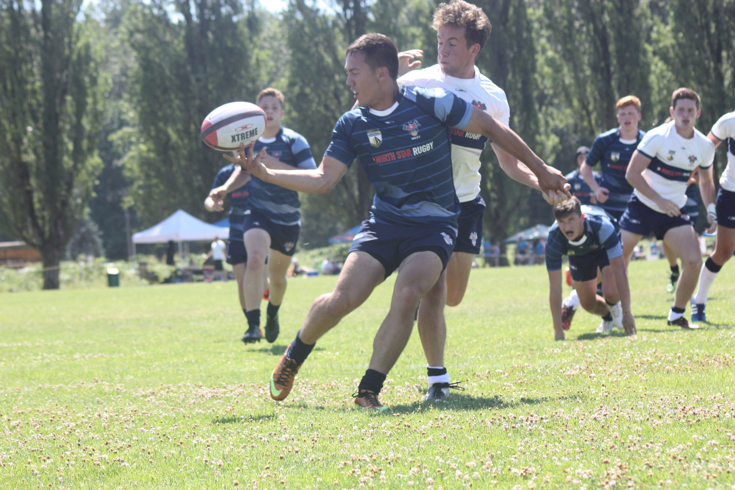 Vancouver North stars teams battle it out at the Provincial Regional championships in burnaby