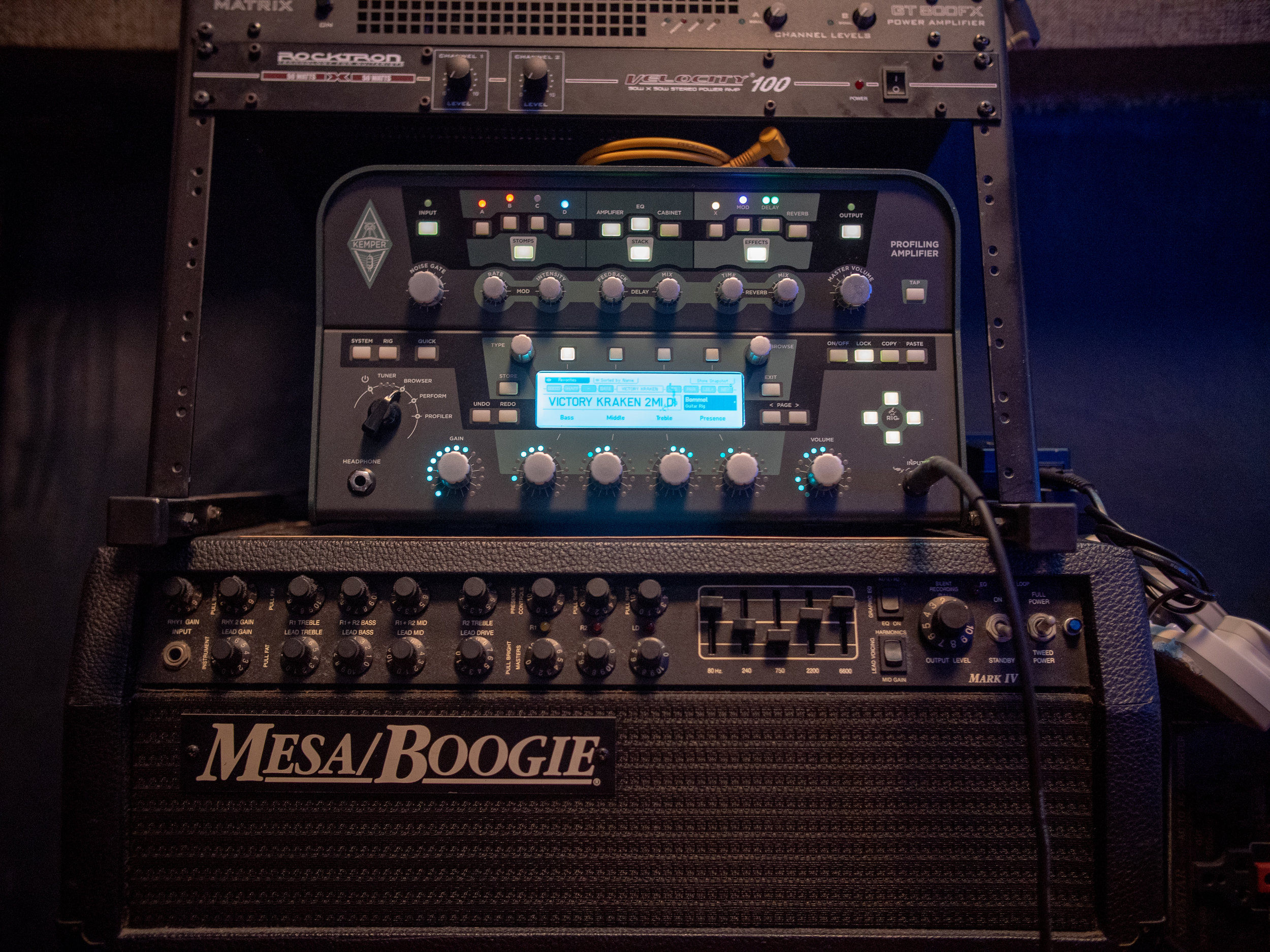 Kemper and Mesa Boogie