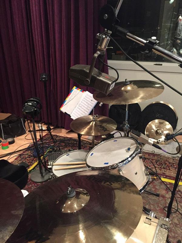 Pork Pie In Studio