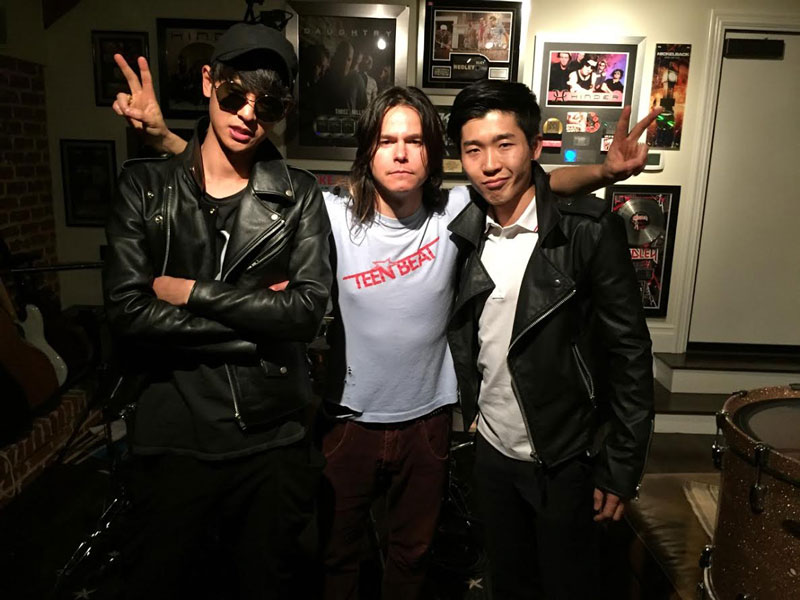 Jung Joon Young BAND AND DAMON Jo from JJY