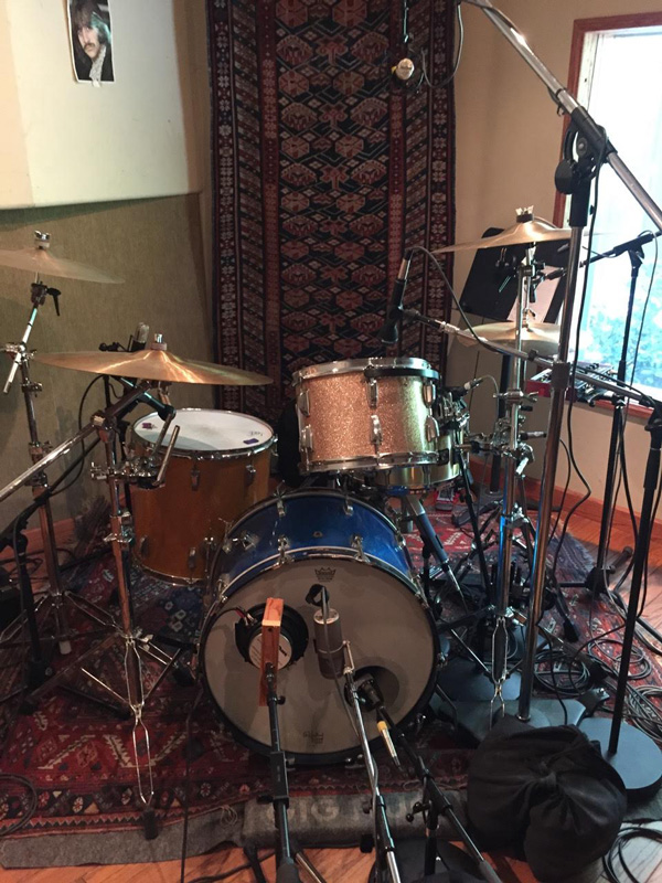 Ready to Lay Tracks at JJ Blair's Force Five Recorders