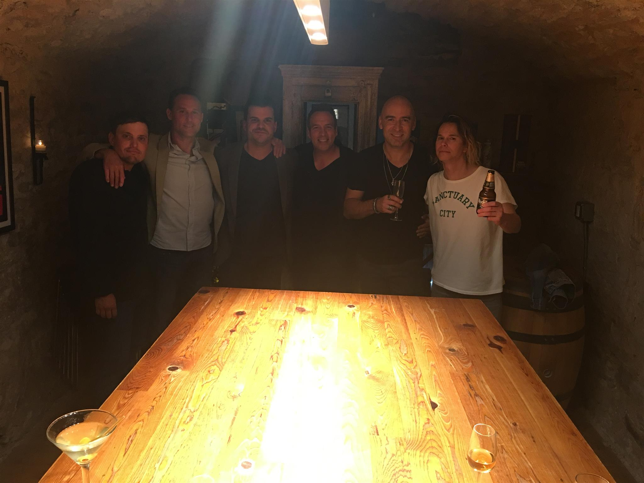 Dinner with Ed Kowalczyk and friends