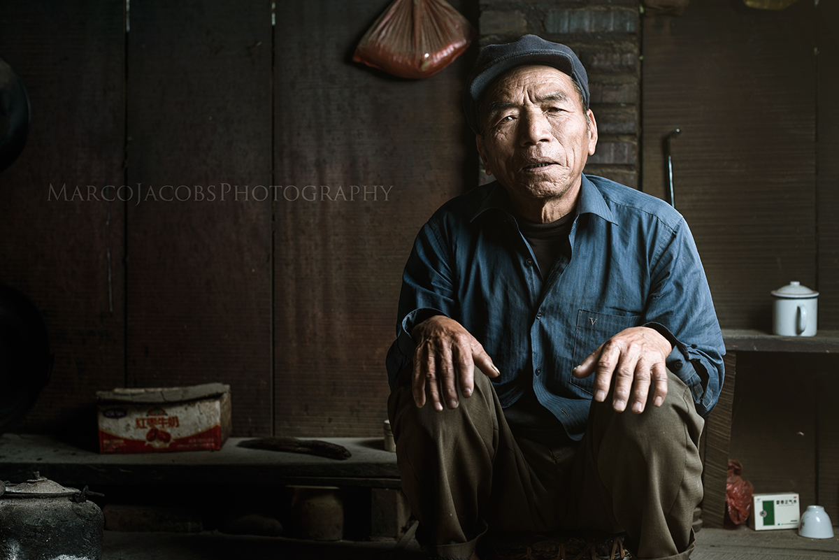 A China Photography Story, Documenting Portraits from the Ethnic Groups in Yunnan. From Shanghai Photographer Marco Jacobs
