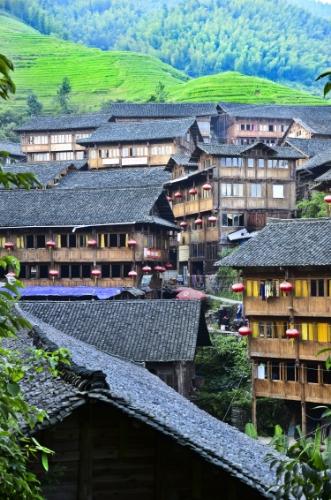 Timber House - China