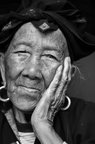 Rice Lady - Portrait