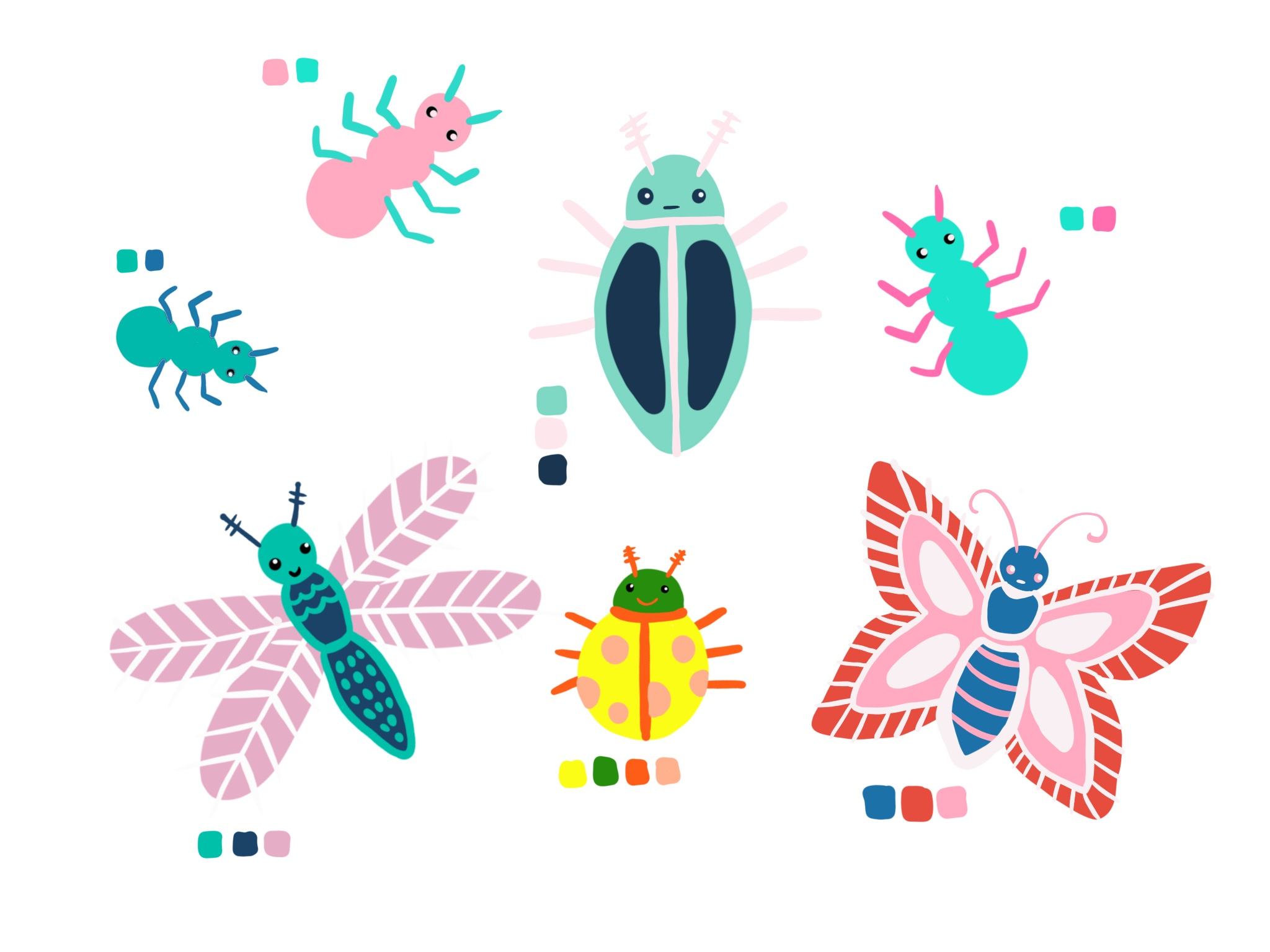 Bo's Insect Friends