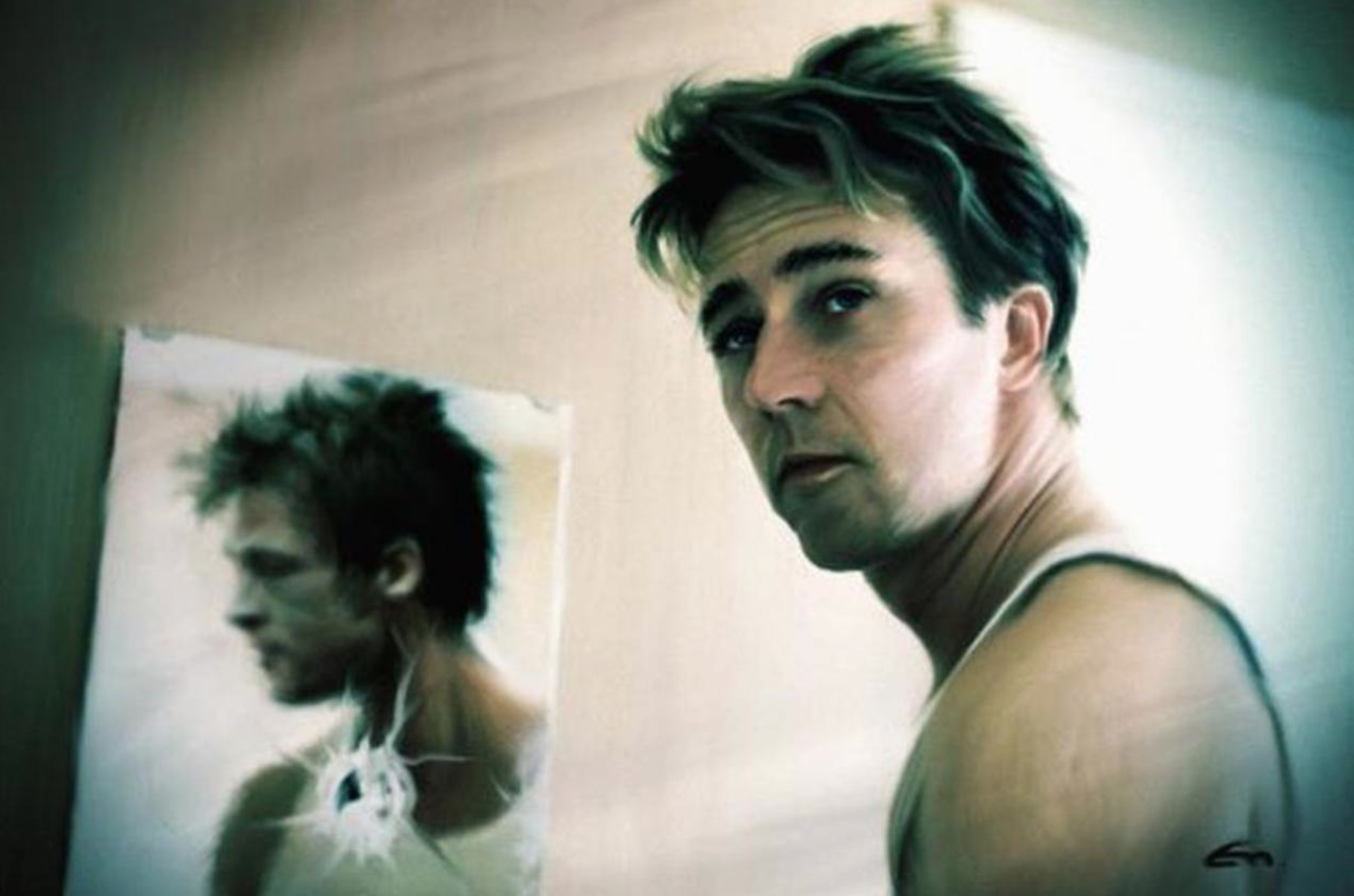Instagramming a photo of Tyler Durden doesn't make you Tyler Durden.