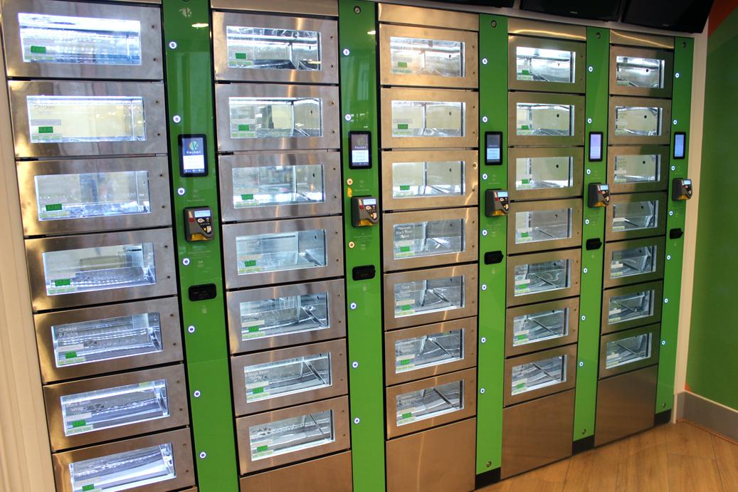 Keuken - Food lockers